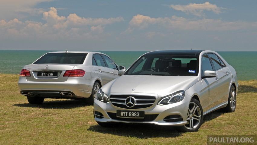 DRIVEN: W212 Mercedes E-Class facelift – E 200, E 250 Image #228549