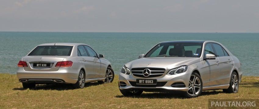 DRIVEN: W212 Mercedes E-Class facelift – E 200, E 250 Image #228550