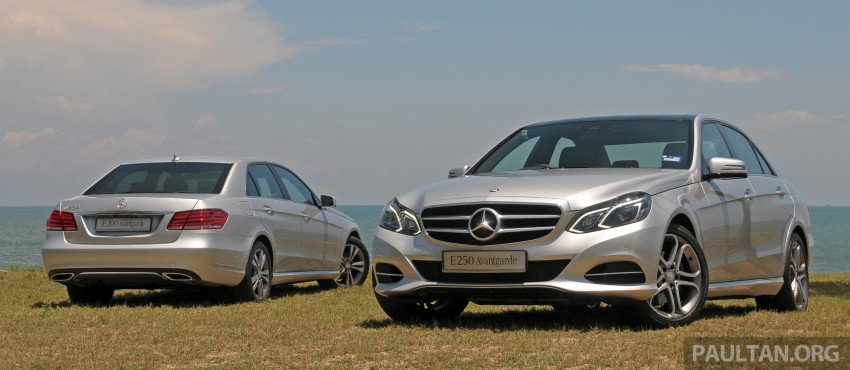 DRIVEN: W212 Mercedes E-Class facelift – E 200, E 250 Image #228553
