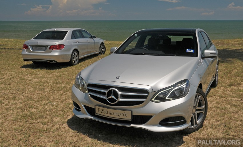 DRIVEN: W212 Mercedes E-Class facelift – E 200, E 250 Image #228554