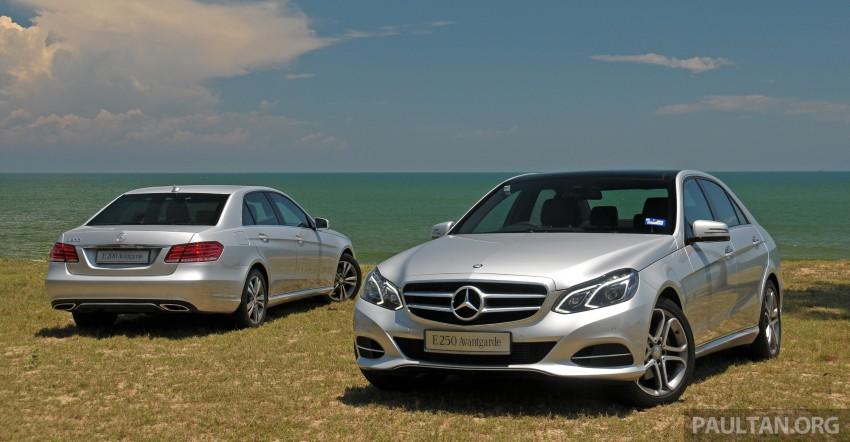 DRIVEN: W212 Mercedes E-Class facelift – E 200, E 250 Image #228555