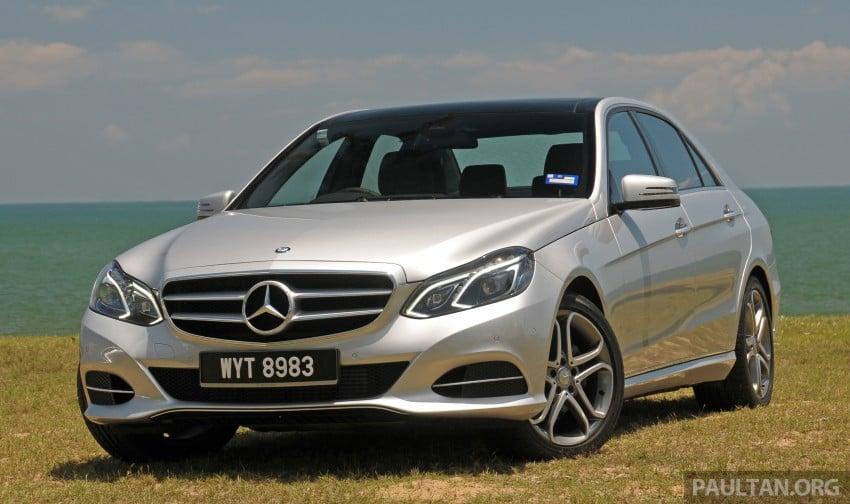 DRIVEN: W212 Mercedes E-Class facelift – E 200, E 250 Image #228556