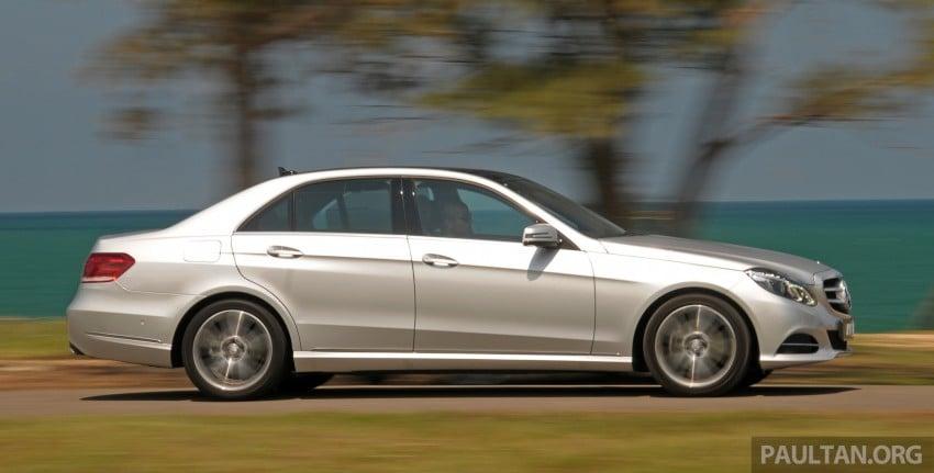 DRIVEN: W212 Mercedes E-Class facelift – E 200, E 250 Image #228558