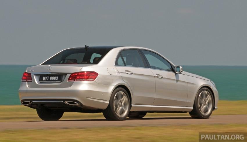 DRIVEN: W212 Mercedes E-Class facelift – E 200, E 250 Image #228560