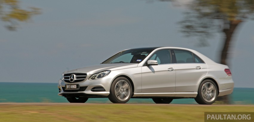 DRIVEN: W212 Mercedes E-Class facelift – E 200, E 250 Image #228561
