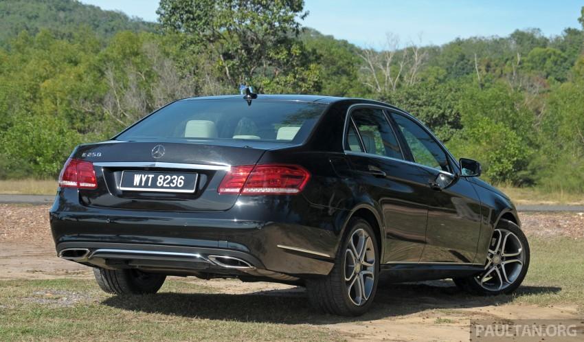 DRIVEN: W212 Mercedes E-Class facelift – E 200, E 250 Image #228573