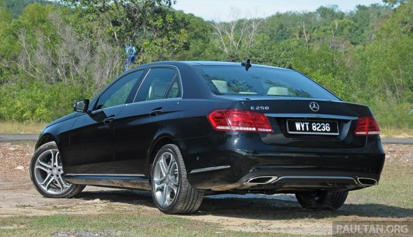 DRIVEN: W212 Mercedes E-Class facelift – E 200, E 250 Image #228575
