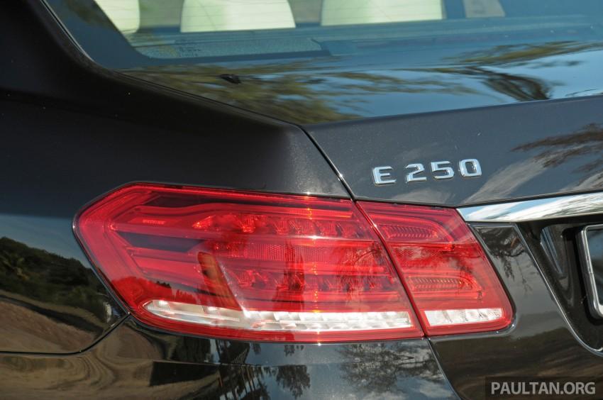 DRIVEN: W212 Mercedes E-Class facelift – E 200, E 250 Image #228583