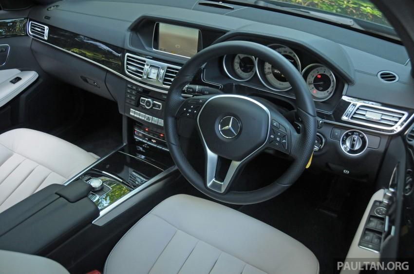 DRIVEN: W212 Mercedes E-Class facelift – E 200, E 250 Image #228592