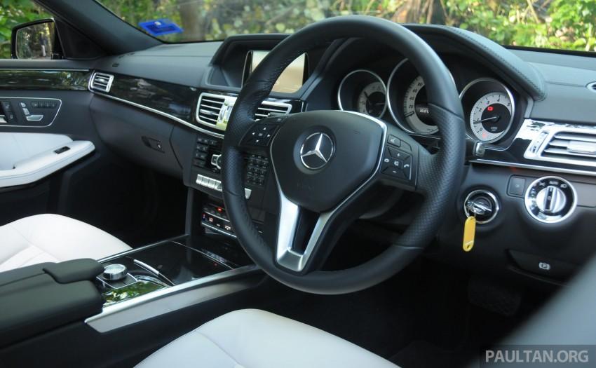 DRIVEN: W212 Mercedes E-Class facelift – E 200, E 250 Image #228593
