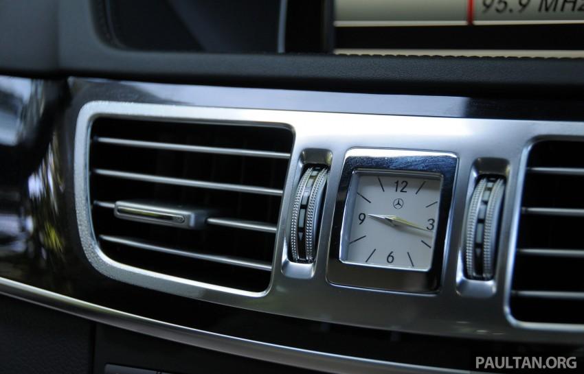 DRIVEN: W212 Mercedes E-Class facelift – E 200, E 250 Image #228606