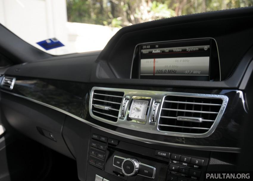 DRIVEN: W212 Mercedes E-Class facelift – E 200, E 250 Image #228607
