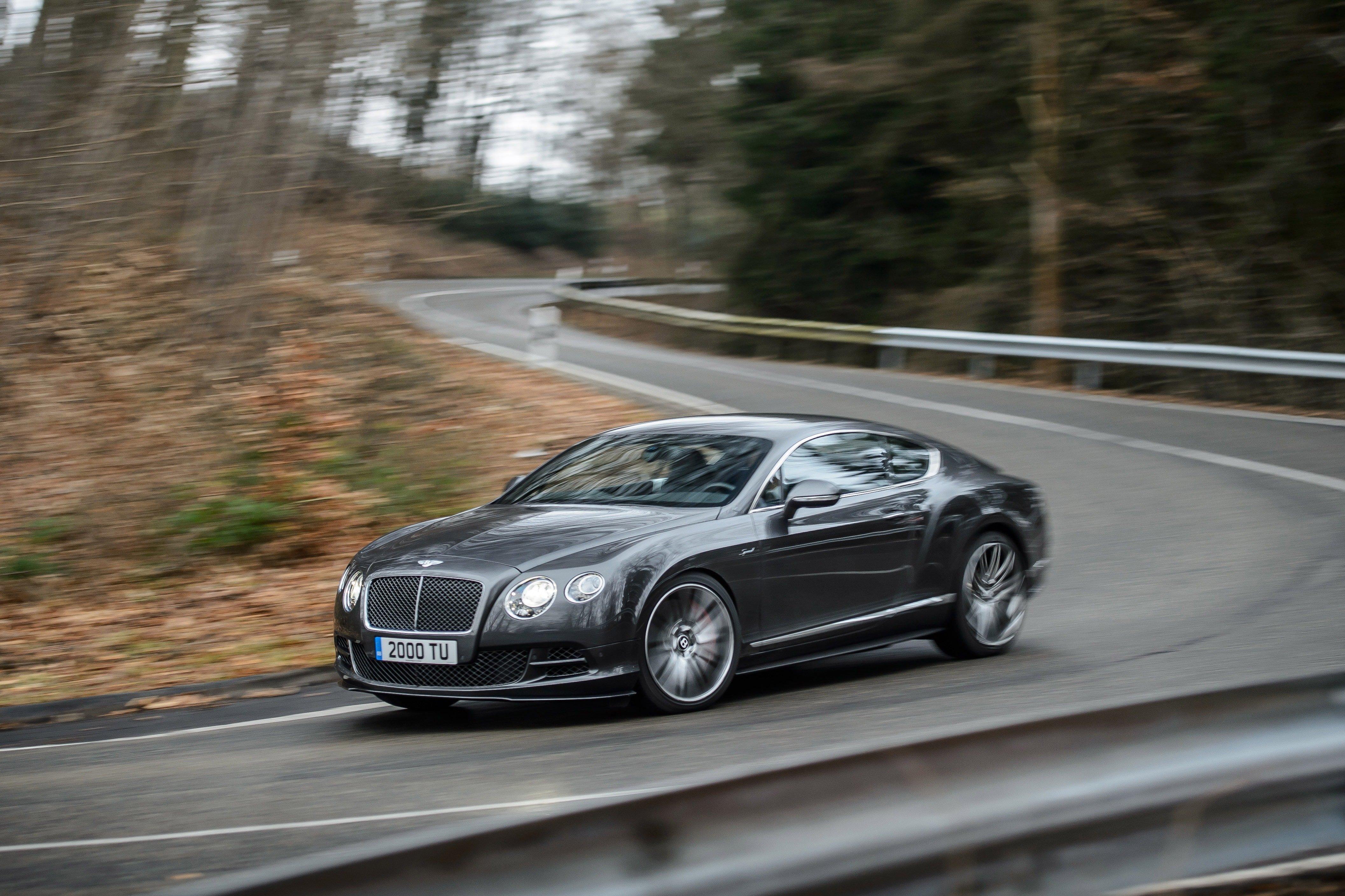 2014 Bentley Continental Gt Speed Even More Grunt Image