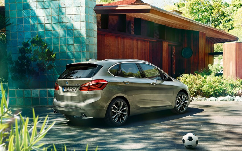 F45 BMW 2 Series Active Tourer – scoring some firsts Image #229128