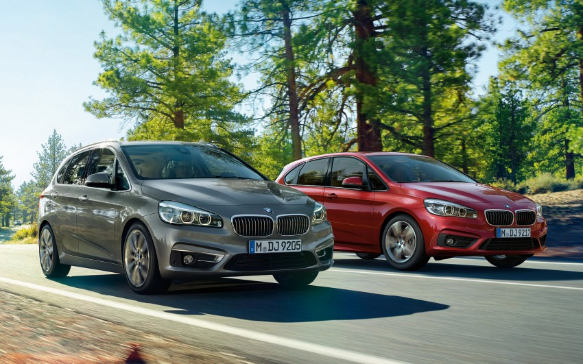 F45 BMW 2 Series Active Tourer – scoring some firsts Image #229129