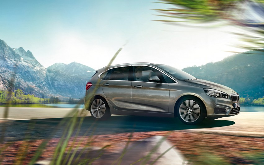 F45 BMW 2 Series Active Tourer – scoring some firsts Image #229130