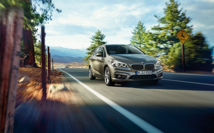 F45 BMW 2 Series Active Tourer – scoring some firsts Image #229135