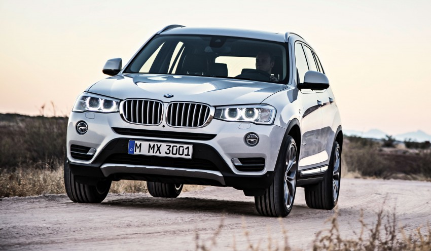 2014 BMW X3 LCI unveiled – the F25 gets facelifted Image #226654