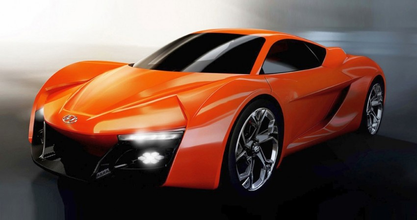 Hyundai PassoCorto – a studious sports car concept Image #231023