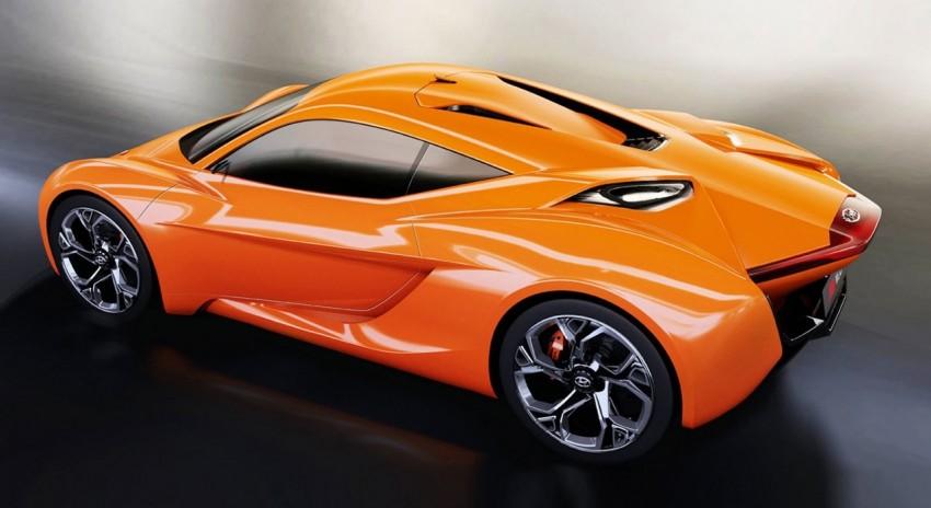 Hyundai PassoCorto – a studious sports car concept Image #231022