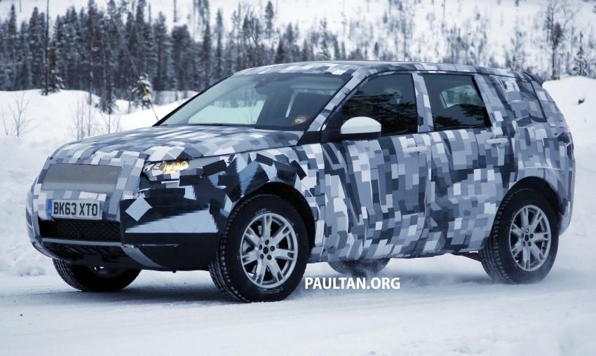 SPIED: Land Rover Freelander successor in the snow Image #230800