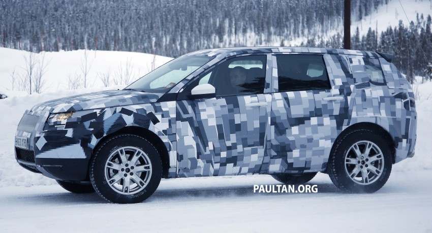 SPIED: Land Rover Freelander successor in the snow Image #230799