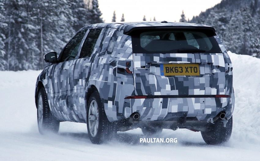 SPIED: Land Rover Freelander successor in the snow Image #230798