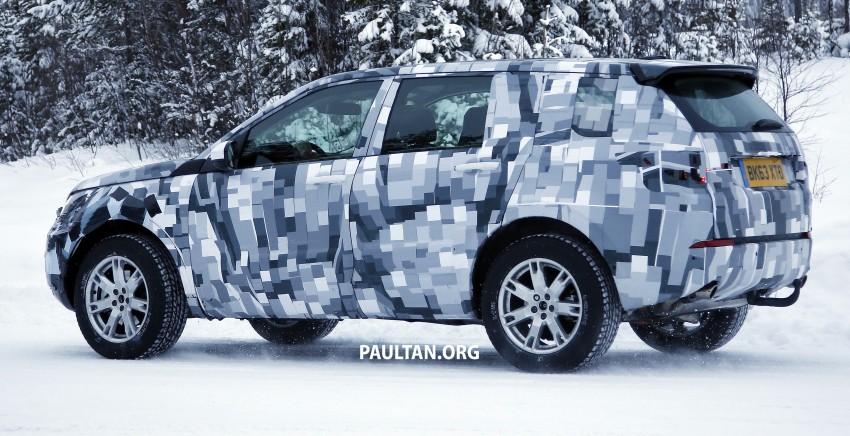 SPIED: Land Rover Freelander successor in the snow Image #230797