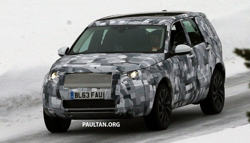 SPIED: Land Rover Freelander successor in the snow Image #230794