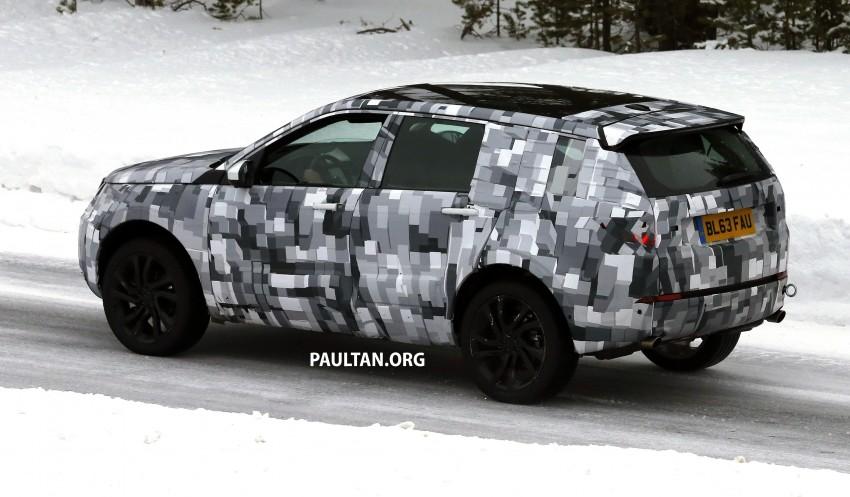 SPIED: Land Rover Freelander successor in the snow Image #230793