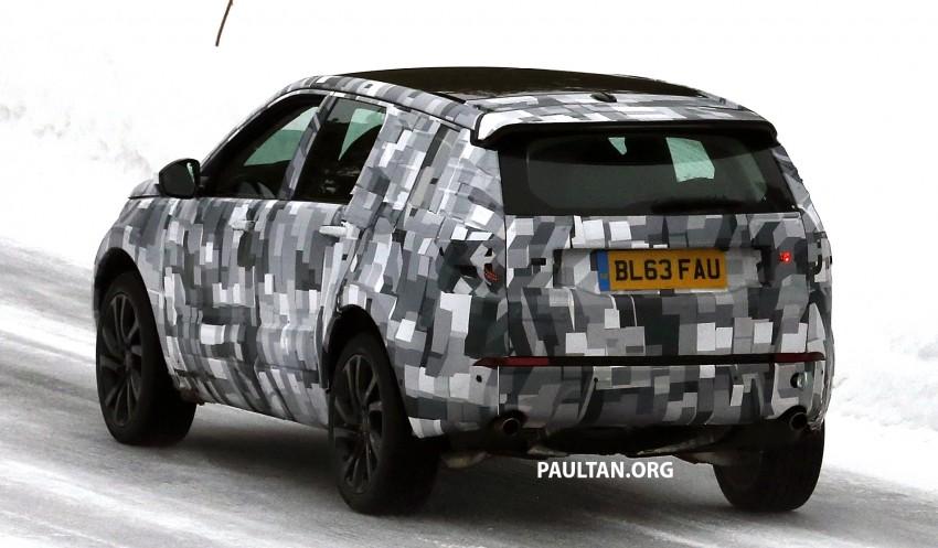 SPIED: Land Rover Freelander successor in the snow Image #230792