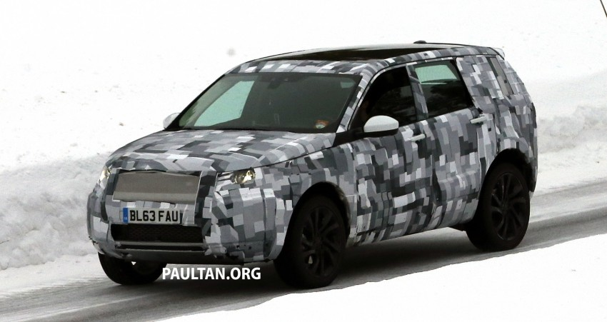 SPIED: Land Rover Freelander successor in the snow Image #230791