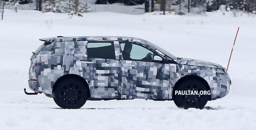 SPIED: Land Rover Freelander successor in the snow Image #230790