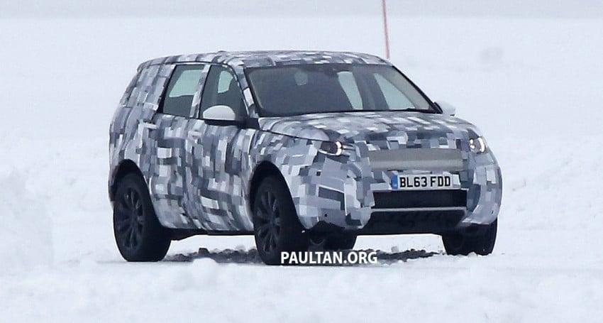 SPIED: Land Rover Freelander successor in the snow Image #230789