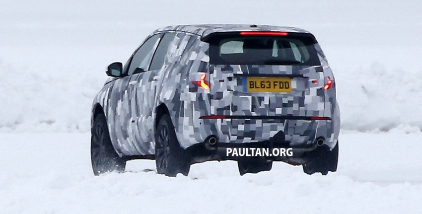 SPIED: Land Rover Freelander successor in the snow Image #230788