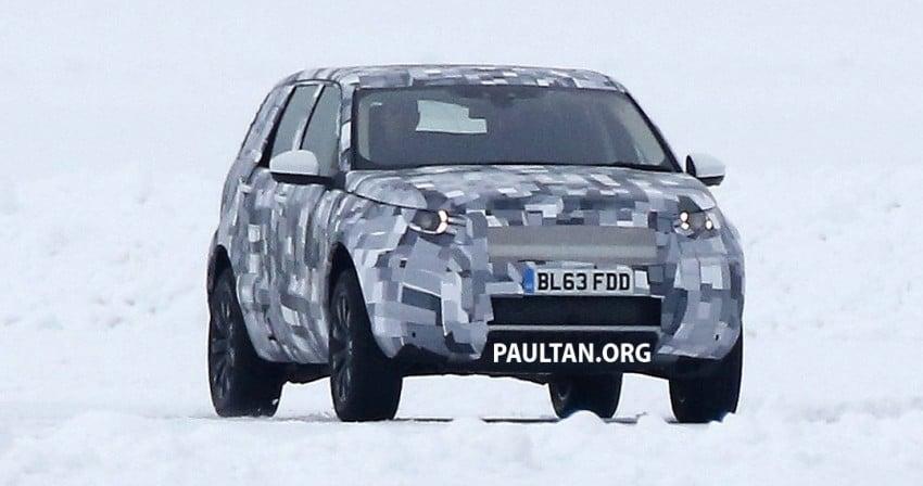 SPIED: Land Rover Freelander successor in the snow Image #230787