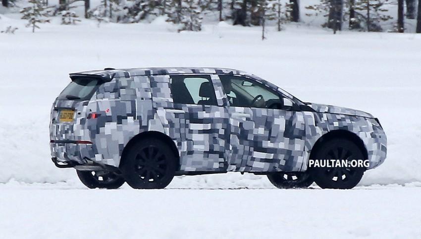 SPIED: Land Rover Freelander successor in the snow Image #230786