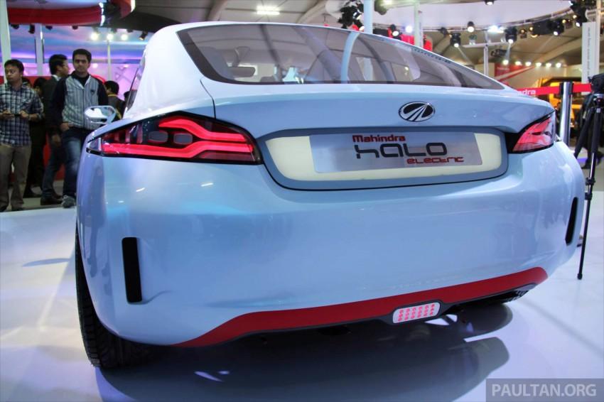 Mahindra REVA Halo EV concept debuts in Delhi Image #227432