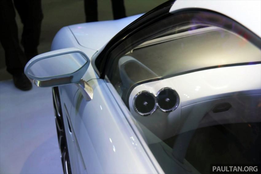 Mahindra REVA Halo EV concept debuts in Delhi Image #227433