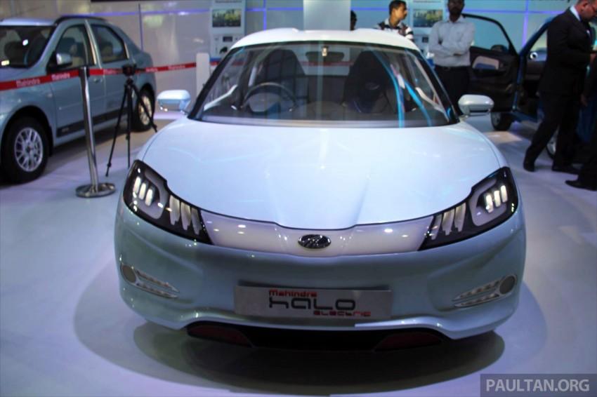 Mahindra REVA Halo EV concept debuts in Delhi Image #227436