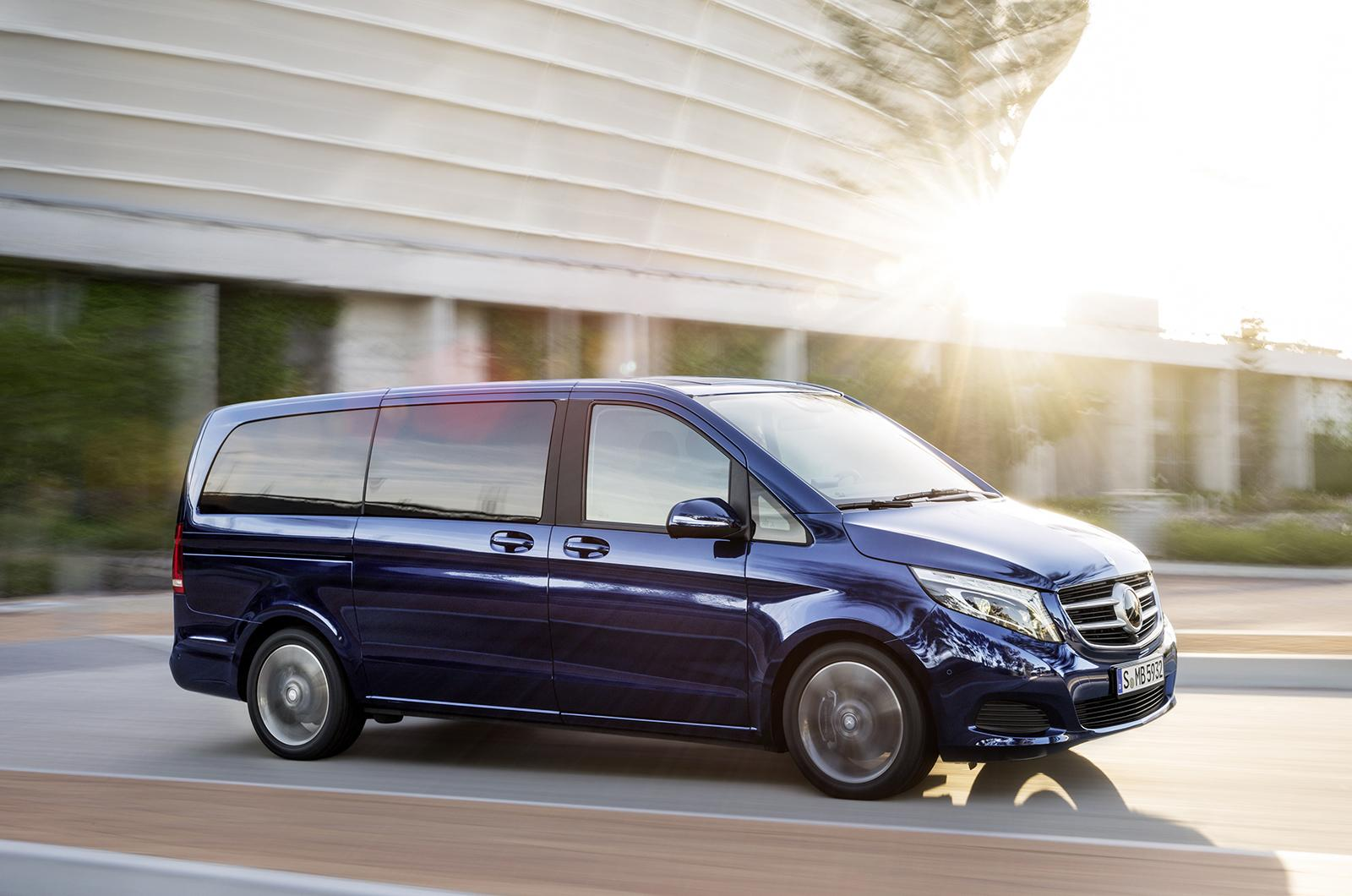 Mercedes Benz V Class W447 Officially Unveiled Image 225683