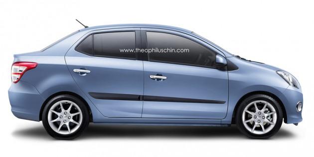 perodua new release carPerodua D63D Sedan Infohub  Paul Tans Automotive News