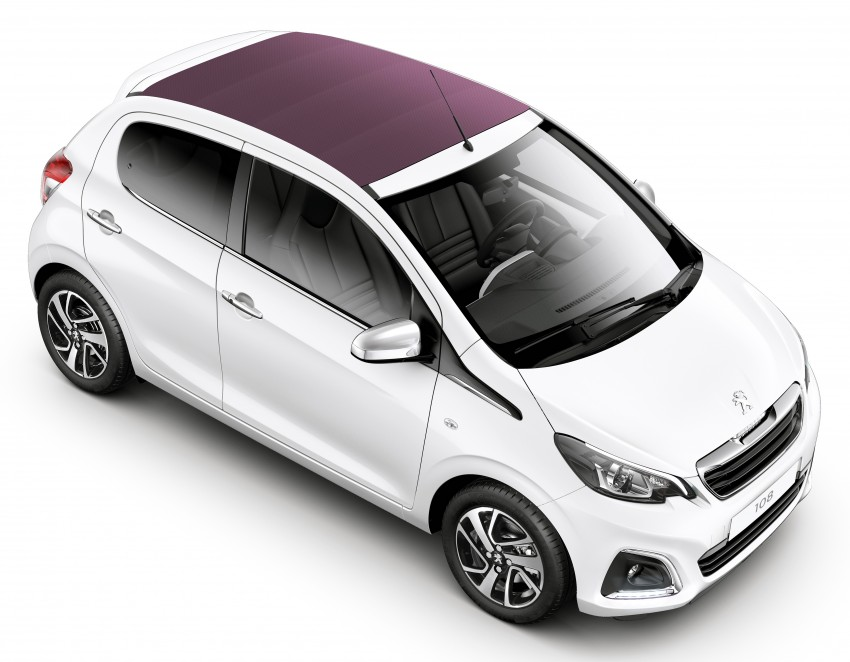 Peugeot 108 breaks cover ahead of Geneva debut Image #228539