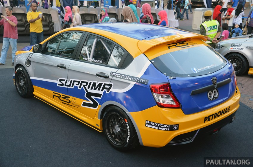 Proton R3 Suprima S Malaysian Touring Car unveiled Image #227201