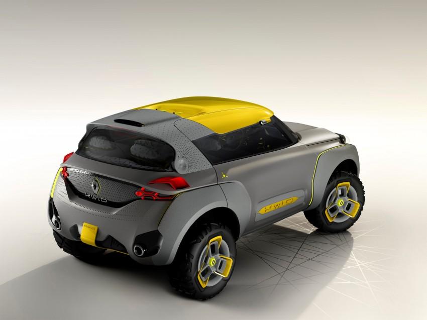 Renault Kwid concept debuts with 'Flying Companion' Image #226429