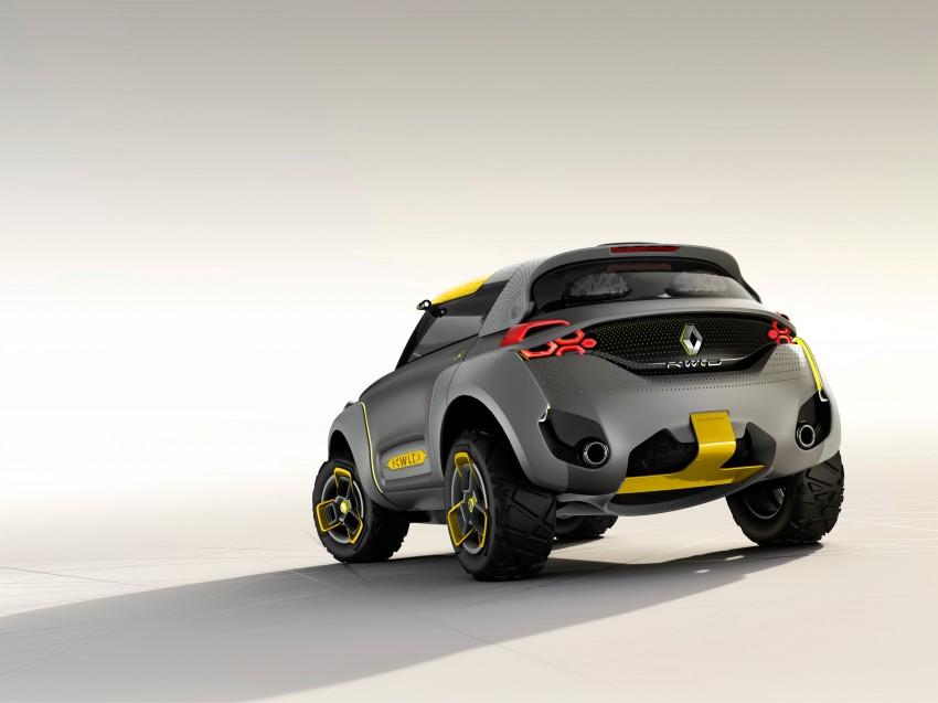 Renault Kwid concept debuts with 'Flying Companion' Image #226431