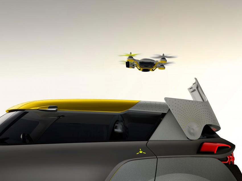 Renault Kwid concept debuts with 'Flying Companion' Image #226432