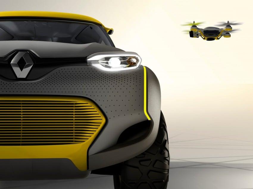 Renault Kwid concept debuts with 'Flying Companion' Image #226433