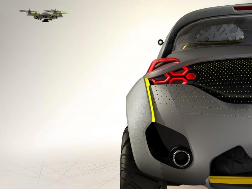 Renault Kwid concept debuts with 'Flying Companion' Image #226434
