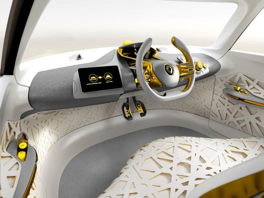 Renault Kwid concept debuts with 'Flying Companion' Image #226435